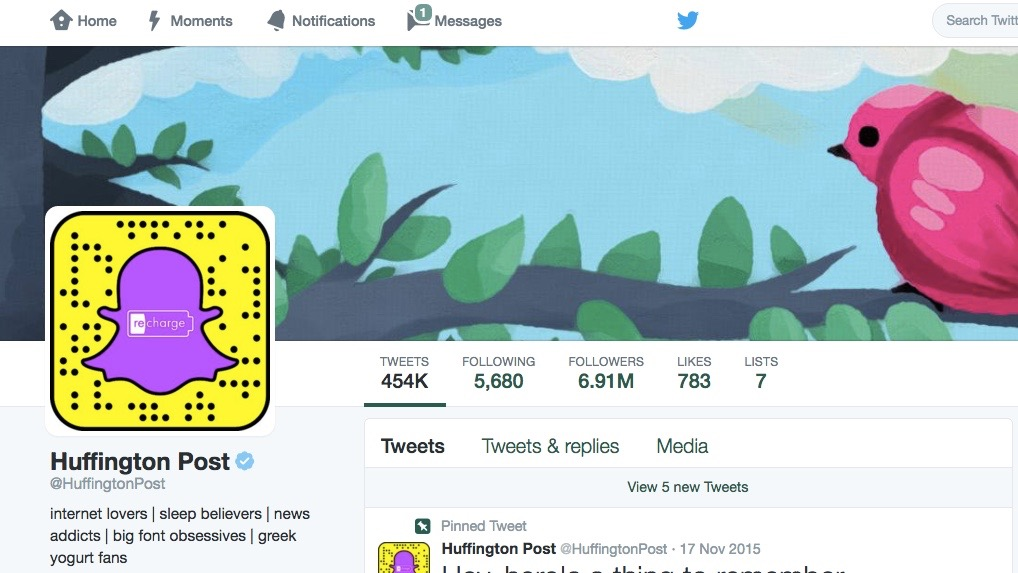 Facebook and Twitter Pressure Partners Over Snapchat — The ...